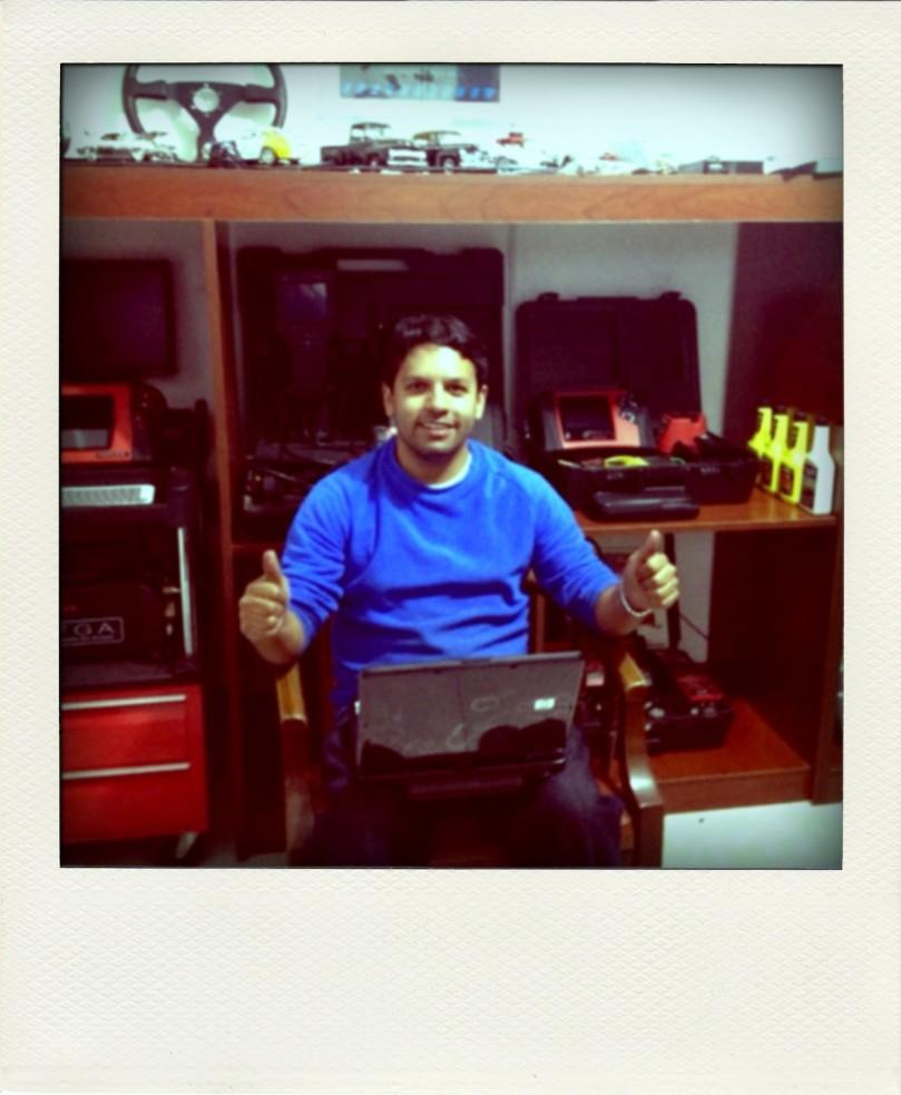 Lugar de trabajo de Hernán