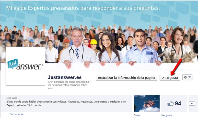 JustAnswer.es FB