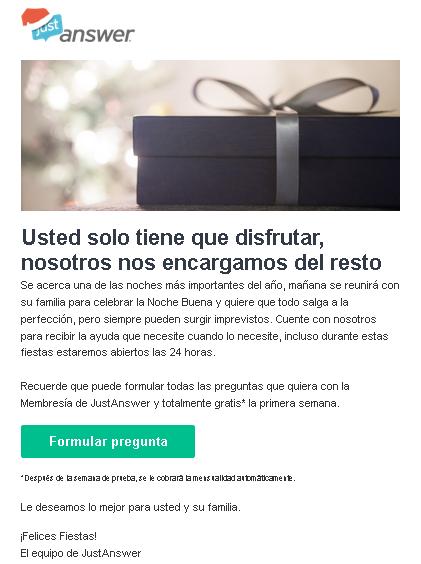 Email_marketing_JustAnswer_Cuente_con_nosotros_